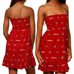 The winner of today's Fanatics Wish List Contest is: @Leah Tinker! Congrats Leah, you get the Bama summer dress you pinned free! #FanaticsSummerWishList