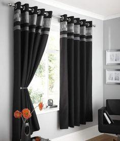 Sightly Black Curtains   Ikuzo Curtain