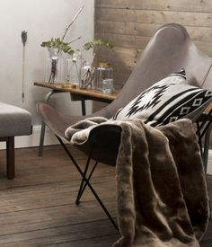 Fake fur blanket #HMHome