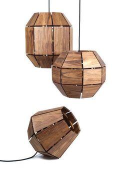"kohler: "" Explore more amazing wood designs. thedesignwalker: "" Paul Roco | Lampara Greta (2013), Available for Sale | Artsy "" """
