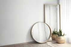 Mirrors can be a very powerful decorative tool—if you know how to use them correctly. Follow these mirror do's and don'ts and your space is sure to shine! Hanging Chair, Your Space, Mirrors, Stuff To Do, Furniture, Home Decor, Decoration Home, Hanging Chair Stand, Room Decor