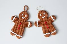Just when I thought I'm all done with my Christmas projects, the idea of making my own version of a gingerbread man ornament keeps popping in my head and I realized the fun of this season is …