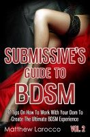 BDSM Fetish Kink Book Guide Life Roleplay Sexy Safety Submissive Training Dom Master Tips Relationship