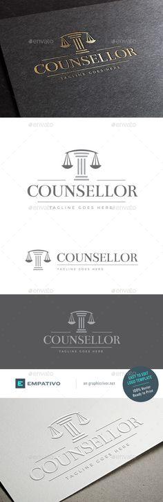 Counsellor Logo Template - Symbols Logo Templates