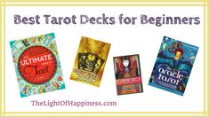 6 Best Tarot Decks for Beginners, Plus 2 to Avoid Buyers Guide) Best Tarot Decks, Tarot Cards For Beginners, Sound Healing, Psychics, Clarity, Exploring, Choices, Journey, Scrubs