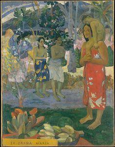 Ia Orana Maria (Hail Mary), 1891 - Paul Gauguin