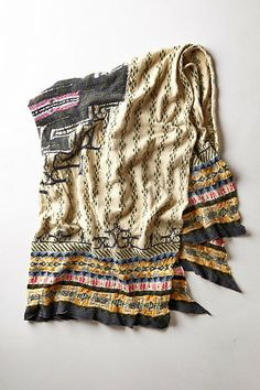 Kapital Ainu Blanket #anthropologie