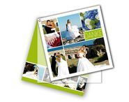 Foto-Dankeskarten mit Öse und Strichmännchen - Comic Polaroid Film, Comic, Pictures, Thanks Card, Card Wedding, Invitations, Comic Strips, Comics, Cartoon