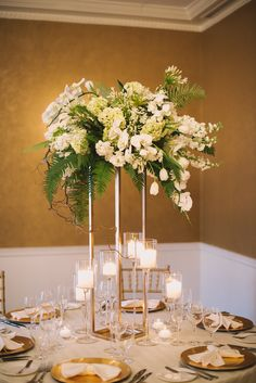 Wedding Flowers: Green and White Whimsical Woodland at Morrison House in Alexandria, Virginia » Sweet Root Village Blog