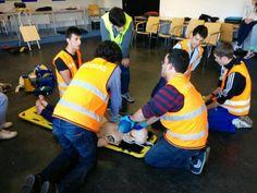 Simulación Síndrome coronario agudo de los alumnos de Emergencias Sanitarias de ITEP