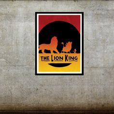 Hakuna Matata  The Lion King / Disney Pixar Inspired by FADEGrafix, $7.95