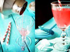 Rhubarb cocktail