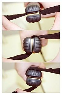 how to curl hair with a flat iron. a life-saver today. - Click image to find more Hair & Beauty Pinterest pins