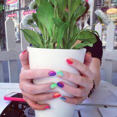 #neon #nails #nailspiration #nailporn #nailswag #nailart #nails #nailsart #nailedit #nail #manicure #mani