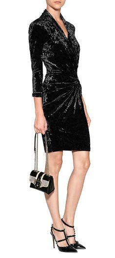 Catherine Malandrino Velvet Delphine Dress