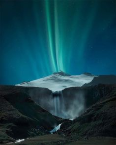 Memories of Iceland #iceland #waterfall #aurora #mountains...