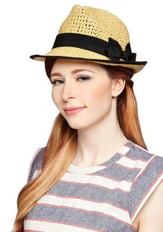 Grosgrain of Sand Hat, #ModCloth