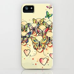 Butterfly Caught iPhone & iPod Case by Nuam - $35.00