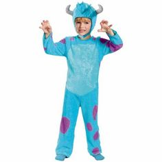 Sully Child Halloween Costume, S (4-6), Toddler Boy's, Multicolor