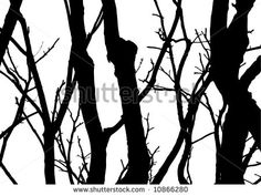 Trees Forest Silhouette Stock Photos, Images, & Pictures | Shutterstock