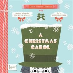 A Christmas Carol Board Book by Jennifer Adams