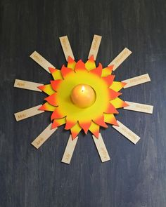wasecabiomes — Celebration Sun - LOVE this material for the Montessori birthday celebration!!!!