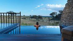 This sleek infinity pool looks out on the Serengeti's plains. Four Seasons Safari Lodge Serengeti (Tanzania) - Jetsetter