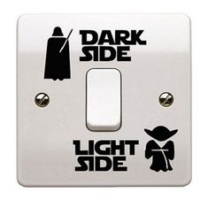 Star Wars Light Switch Decal Wall Sticker