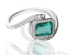 emerald ring - Google Search