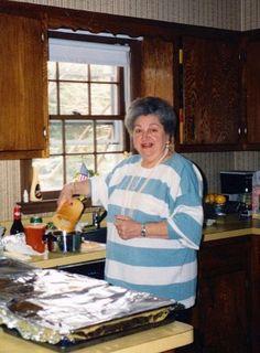 Meema in the kitchen!