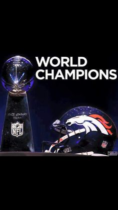 Super Bowl 50 Champions! Denver Broncos!