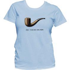 The Fault in Our Stars T-Shirt Ceci n'est pas une pipe Hazel Lancaster #Gildan #BasicTee