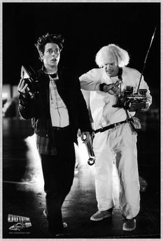 Eric Stoltz as Marty McFly.