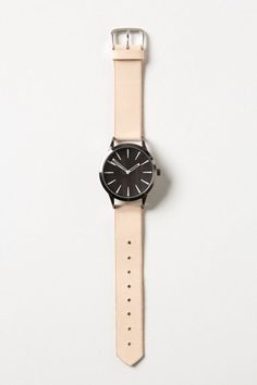 Handmade Natural Leather Watch - Lyst