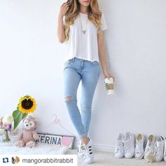 Our #FeatureFriday goes to the lovely @mangorabbitrabbit who is in love with our Jeans  Tag #29nunderlove and you might be featured on our site next week