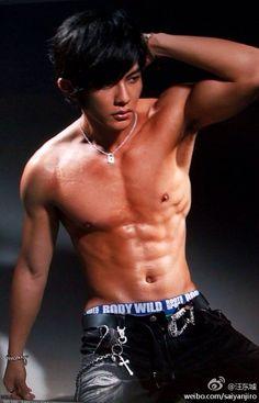 Chinese male celebrity jiro wang