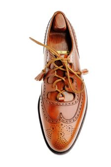 John Lobb - Full Brogue Gillie. Wing tip..