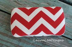Red Large Chevron Boutique Style Travel by CrystalCreations108, $9.00