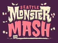 Jonathan Ball is an independent lettering designer based in Seattle who specializes in custom lettering, illustration, and typographic design. Monster Font, Monster Quotes, Monster Mash, Vintage Typography, Graphic Design Typography, Lettering Design, Logo Design, Type Design, Halloween Illustration