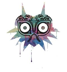 "The Legend of Zelda: Majora's Mask ""Watercolor"" T-Shirt ($19.57)"