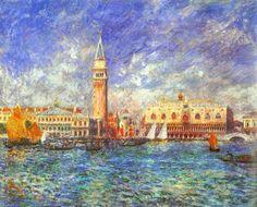 Auguste Renoir - Il Palazzo dei Dogi (1881)