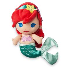 Ariel Plush Rattle for Baby