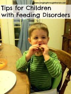 Tips for Children with Feeding Disorders - interesting - should also take into account food allergies with initial tasting Pediatric Occupational Therapy, Pediatric Ot, Oral Motor Activities, Sensory Activities, Food Therapy, Speech Therapy, Therapy Ideas, Speech Language Pathology, Speech And Language