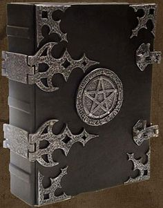 Book of Shadows | Brahm's Bookworks, Grimoire, medieval book