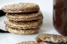 Gold Irish Butter & Oats Sandwich Cookies (from Love + Cupcakes)