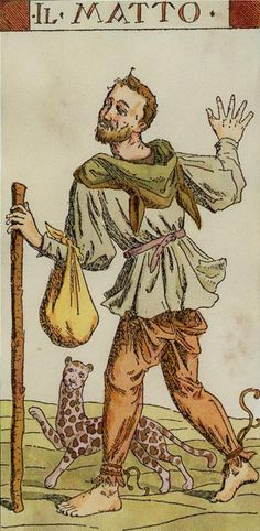 The Fool - Tarot of the Master