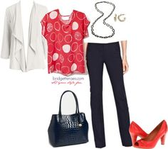 Bridgette Raes - what to wear on Monday mornings!