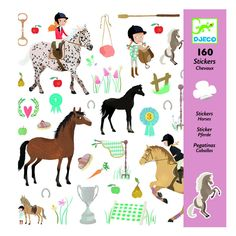 If you know someone who loves horses, they will adore the Djeco Horse Stickers. The pack contains 160 stickers. Cheap Toys, Top Artists, Small Art, Baby Kind, 5 Year Olds, Party Bags, Creative Kids, Small Gifts, Baby Toys
