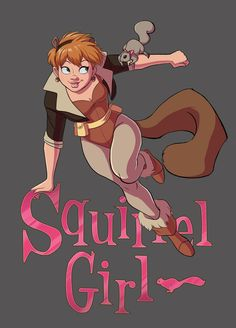 The Unbeatable Squirrel Girl by Yunyin on DeviantArt