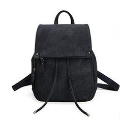 Oferta: 11.82€. Comprar Ofertas de Sulmoe - Bolso mochila  para mujer negro negro barato. ¡Mira las ofertas!